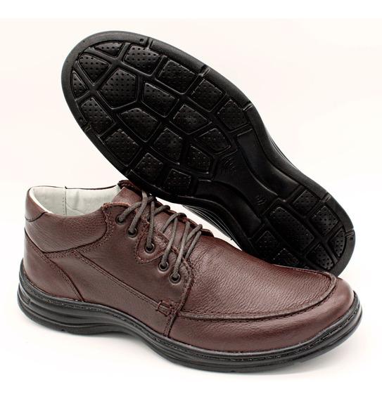 Sapato Casual Masc Flexivel Anatomico Extra Leve 2710