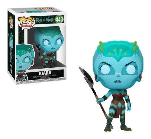 Funko Pop! Kiara 443 Rick And Morty Muñeco Original