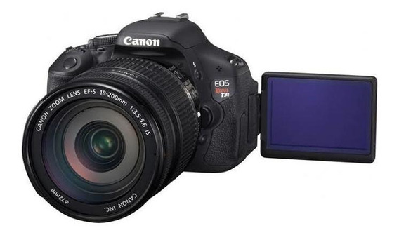 Camera Canon T3i Usada + Lente 18-55 Mm+ 58mm