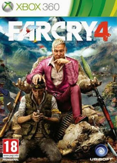 Far Cry 4 Xbox 360 Mídia Digital