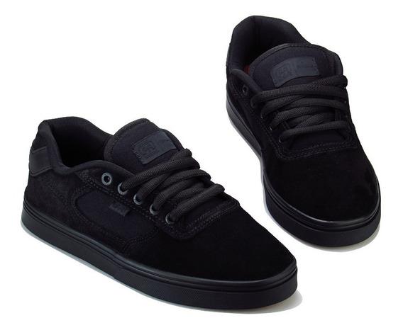 Tênis De Skate Hocks Flat Lite Black Preto Original