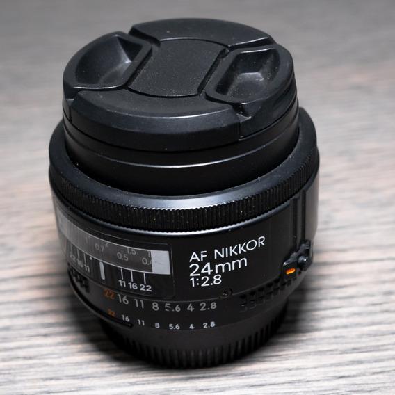 Lente Nikon 24mm 2.8d