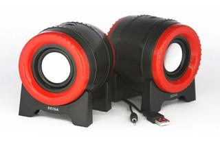 Parlante Portatil Para Pc Con Cable Usb Y 3.5mm [st-3068]