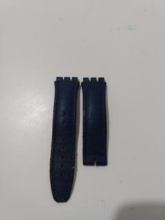 Pulseira Original Swacth Usado Couro,19 Mm