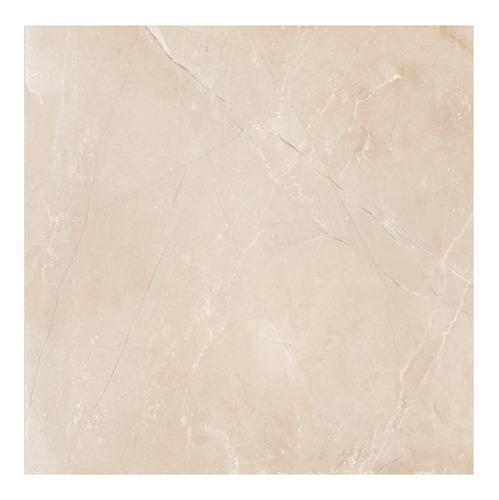 Imagen 1 de 5 de Porcelanato Pulido Cerro Negro Monaco Crema 58,5x58,5 1ra