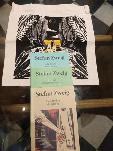 Stefan Zweig Tres Libros + Bolsa. Stefan Zweig. Godot