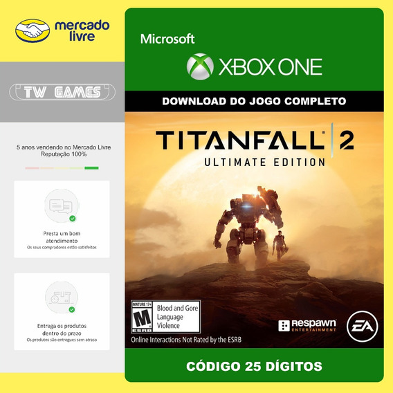 Titanfall 2 Ultimate Edition Código 25 Digitos Xbox One