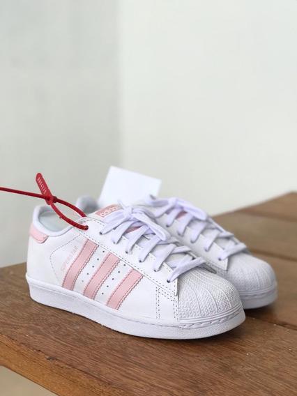 Tênis adidas Super Star Feminino E Masculino Original Couro