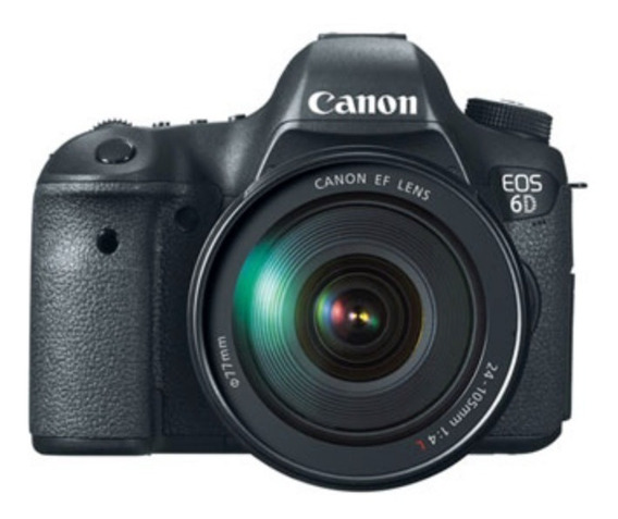Camera Canon Eos 6d Kit 24-105mm F/4l Is Com Nota Fiscal