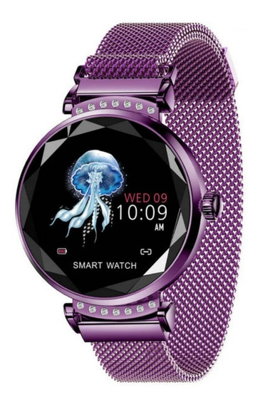 Moda Mujeres H2 Inteligente Reloj Corazón Tarifa Sangre Pres