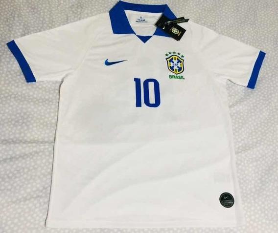 Camiseta Seleção Brasileira Edição Especial Branca
