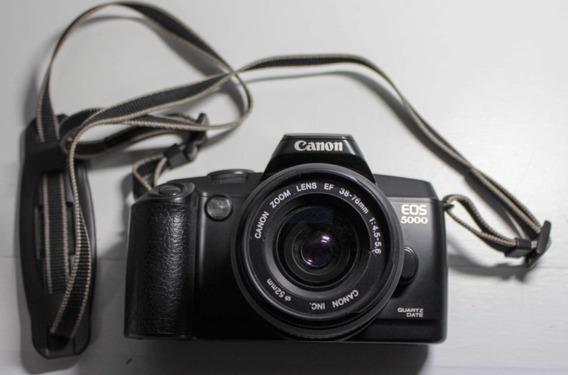 Câmera Fotográfica Analógica Canon Eos 5000