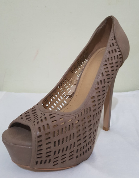 Zapatos De Mujer, Forever 21, Cuero, Nuevos, Para Fiestas.