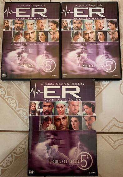 Dvd Er Plantão Médico 5 Temporada Completa