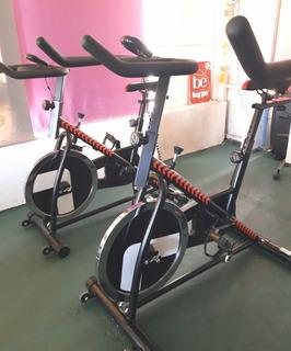 Bicicleta Fija Spinning Randers Reforzada Arg 873sp Poco Uso