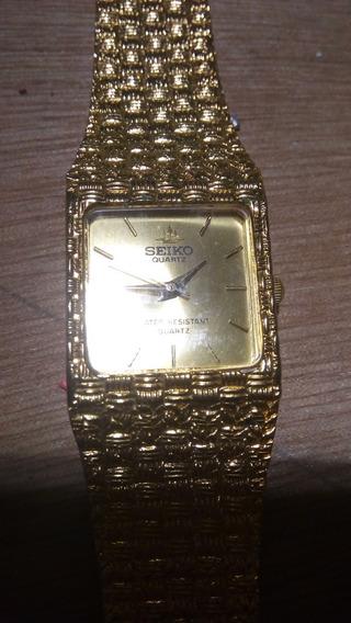 Relógio Folheado Seiko Original