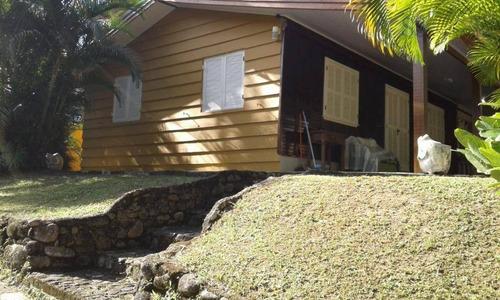 Imagem 1 de 26 de Casa Na Praia Massaguaçu, Faz Fundo Com A Cachoeira, Com 1030m² De Área Total - Ca0735