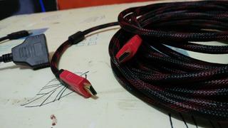 Cable De Oro Hdmi Mallado