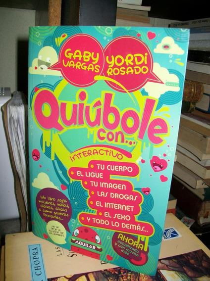 Quiubole Mujeres Interactivo Rosado / Gaby Vargas