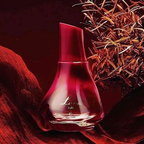 Perfume Femenino, Luna Rubí, Natura. - mL a $56