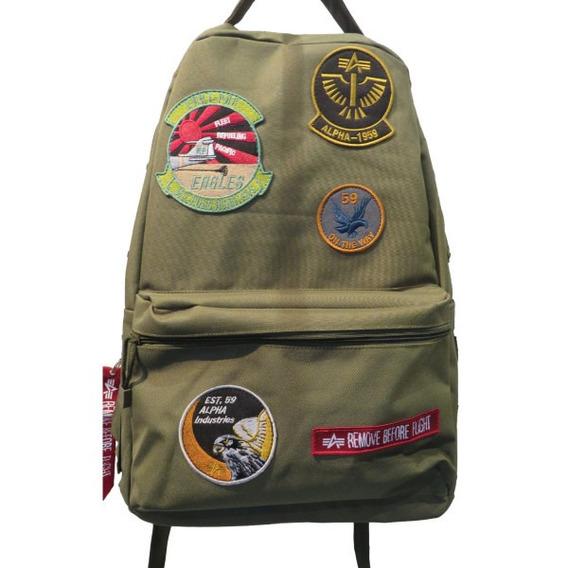 Mochila Alpha Industries Militar Importadas Originales
