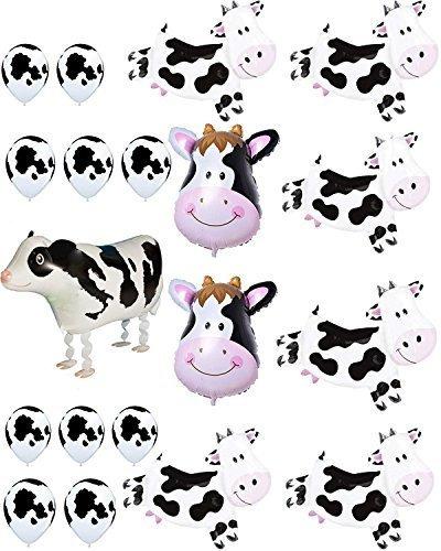 Fiesta De Globos De Vaca Agreatca, Tema De Vaca De Animales