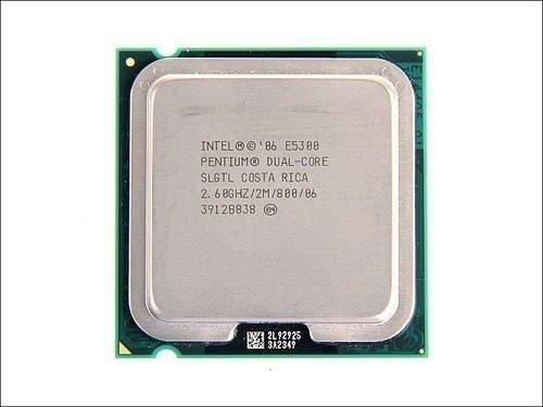 Processador Intel Dual Core E5300 2.6ghz / 2m / 800