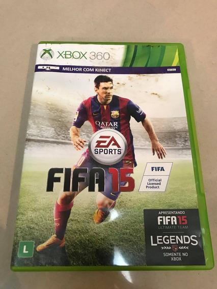 Jogo Fifa 2015 Usado Xbox 360 Mídia Física Original