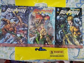 Hq Aquaman - Os Novos 52! - Volumes 01/02/03