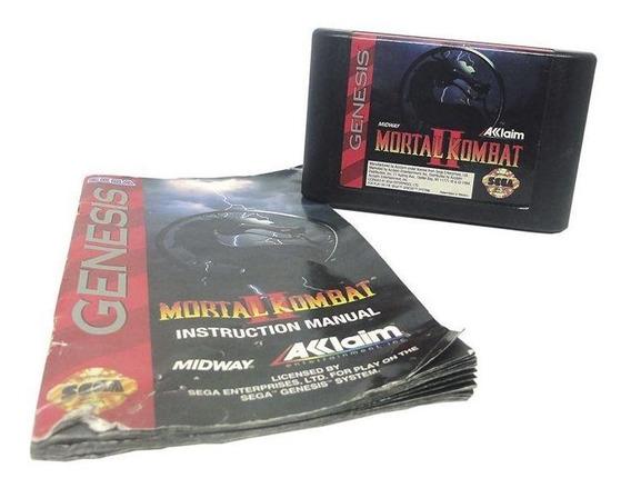 Mortal Kombat Ii Mega Drive Mídia Física Pronta Entrega