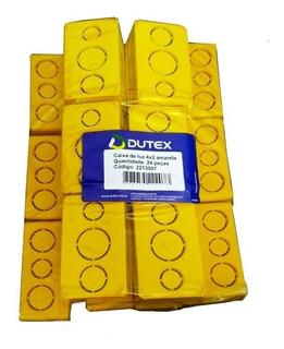 Caixa Plastica Luz 4x2 Tomada Dutex 1ª Linha 24 Unid Full
