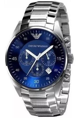 Relógio Masculino Emporio Armani Ar5860/5858 Original 12x
