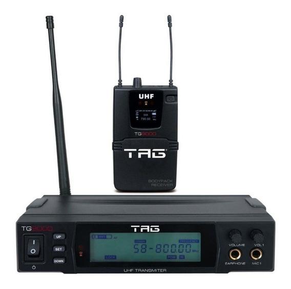 Tagima Monitor Referência In Ear Uhf Tg9000 Sem Fio