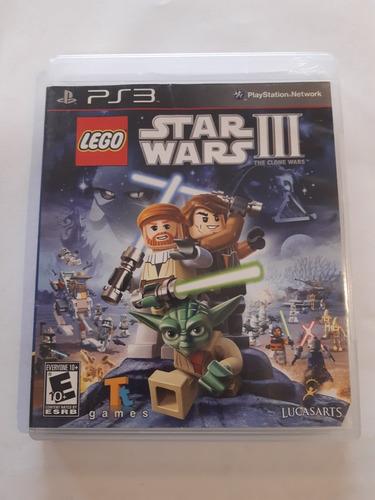 Imagen 1 de 1 de Lego Star Wars 3 The Clone Wars Ps3 Fisico