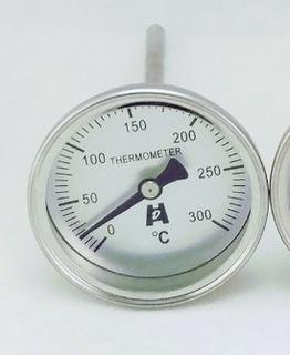 Termometro Analogico Para Horno 300 De Aguja Bimetal Lf85