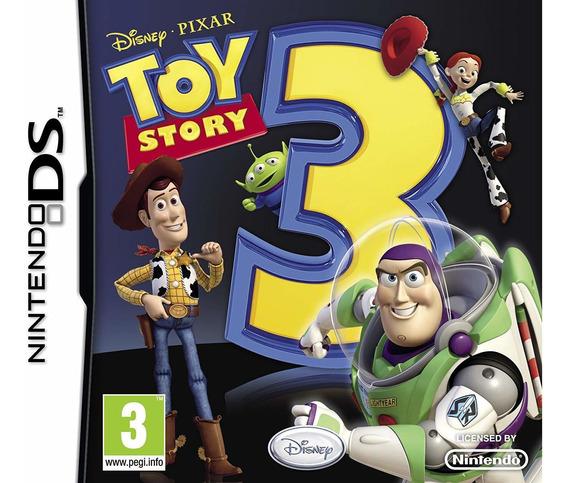 Jogo Toy Story 3 - Nintendo Ds Usado