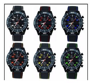 Reloj Pulsera Hombres Diseño Deportivo Gt Por 10 X Mayor