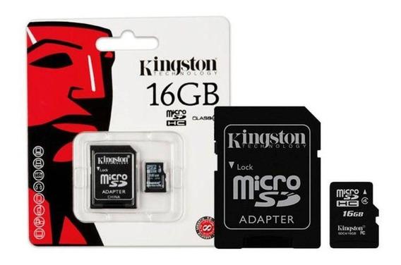Cartao De Memoria Kingston Micro Sd - 16 Gb - Hc - Class 4