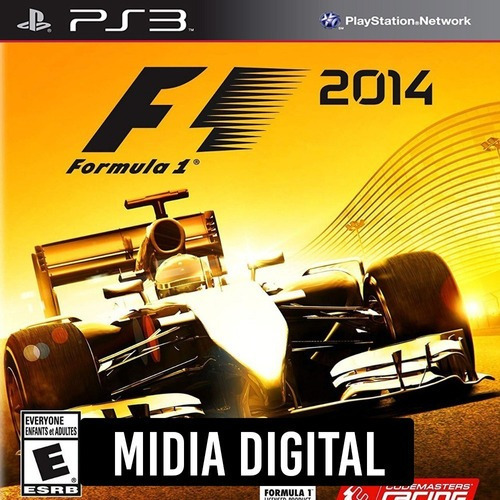 Ps3 Psn* - F1 2014 Formula 1 Ingles