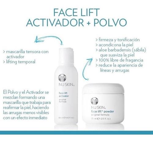 Mascarilla Tensora Kit Nuskin Hidratante Facial Spa Nu Skin