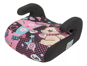 Assento Elevação Infantil Rosa Supreme Carro Tutti Baby