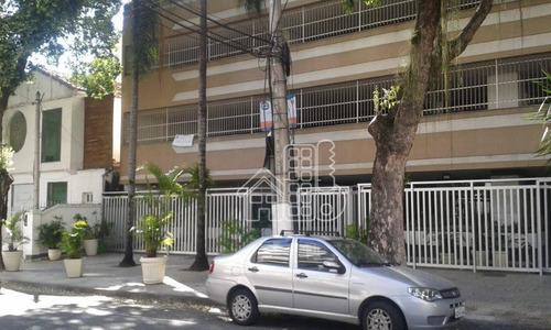 Apartamento À Venda, 130 M² Por R$ 980.000,00 - Icaraí - Niterói/rj - Ap2363