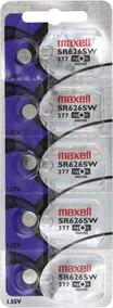 Maxell Pack De 5 Pilas Sr-626sw. - Originales