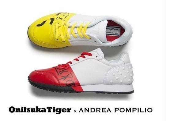 Tenis Onitsuka De Piel Bicolor Nuevos Original #25