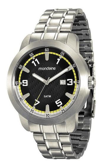 Relógio Mondaine Masc. Prata Calendário 78671g0mvna1 Vltrine