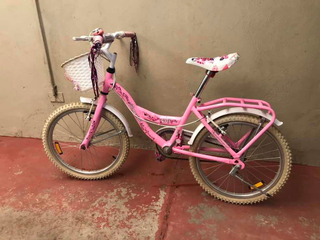 Bicicleta Tomaselli Rodado 20 Nena