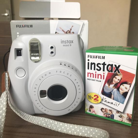Câmera Instax Mini 9 + 20 Filmes