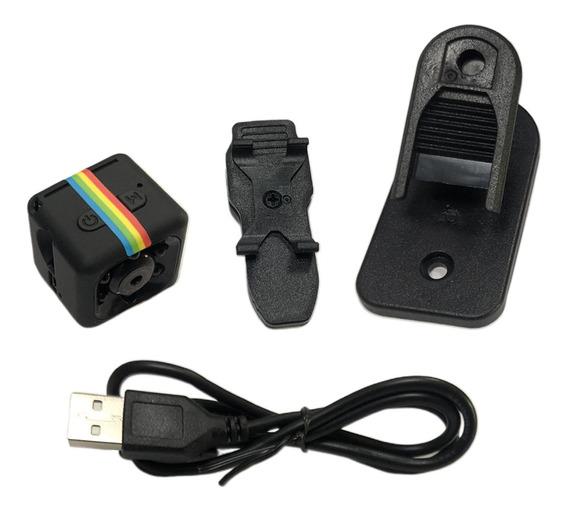 Câmera Mini Sq11 Dv, Câmera Portátil De Câmera De Vídeo Full