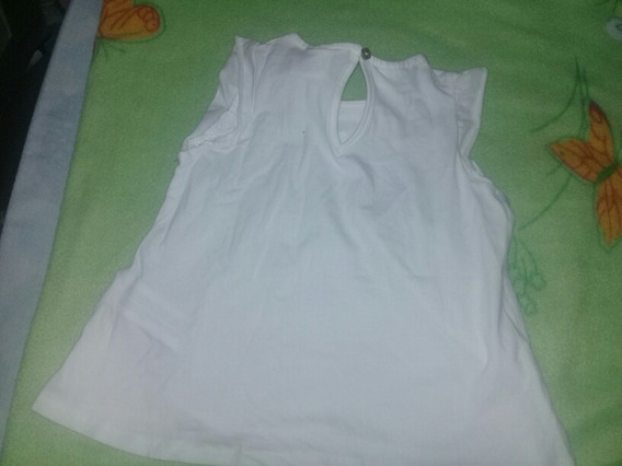 Camiseta Zara Talle 12 A 18 Meses