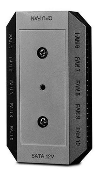 Controlador De Fan Deepcool Fh-10 - Dp-f10pwm-hub